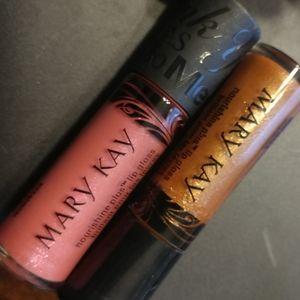 2 Mary Kay lip gloss